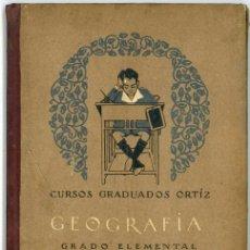 Libros antiguos: CALLEJA. CURSOS GRADUADOS ORTIZ. GEOGRAFIA.. Lote 14541137