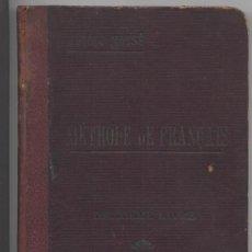 Libros antiguos: METODO PRÁCTICO DE FRANCÉS *MASSÉ* - SEGUNDO LIBRO. Lote 24241023