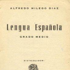 Libros antiguos: GRAMATICA DE LA LENGUA CASTELLANA POR LA REAL ACADEMIA ESPAÑOLA AÑO 1883. Lote 27637177