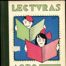 Libros antiguos: LECTURAS AGROPECUARIAS (PARA USO DE LAS ESCUELAS RURALES) ANTIGUO LIBRO DE ESCUELA PORTADA DE TXIKI. Lote 15260646