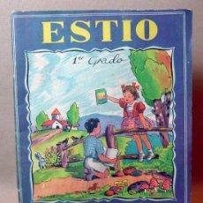 Libros antiguos: LIBRO, ESTIO, 1º GRADO, MALLAFRE, DEBERES DE VACACIONES, ROMA. Lote 15453003