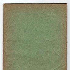 Libros antiguos: CUADERNO Nº 1. LECCIONES AUTOGRAFIADA DE RELIGION Y MORAL POR JOSE Mª FLOREZ. MADRID 1920. Lote 15602309