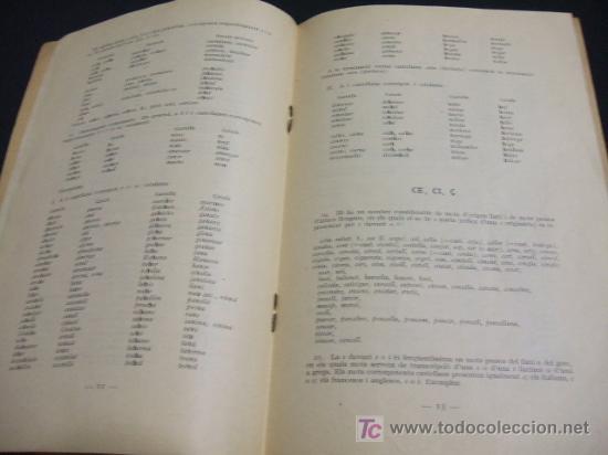 Libros antiguos: LIBRETO ORTOGRAFIA CATALANA AÑO 1.917 - SEGONS EL SISTEMA ADOPTAT PER LINSTITUT DESTUDIS CATALANS - Foto 3 - 23661966