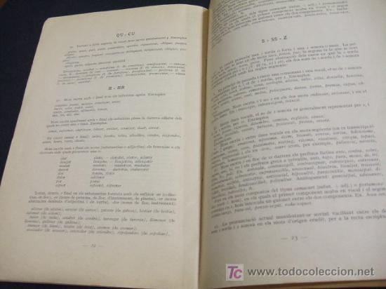 Libros antiguos: LIBRETO ORTOGRAFIA CATALANA AÑO 1.917 - SEGONS EL SISTEMA ADOPTAT PER LINSTITUT DESTUDIS CATALANS - Foto 4 - 23661966