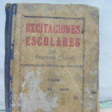 Libros antiguos: RECITACIONES ESCOLARES, EDITORIAL MAGISTERIO ESPAÑOL. HACIA 1920. Lote 16699128