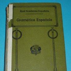Libros antiguos: GRAMÁTICA DE LA LENGUA ESPAÑOLA. REAL ACADEMIA ESPAÑOLA. 1924. Lote 26970782