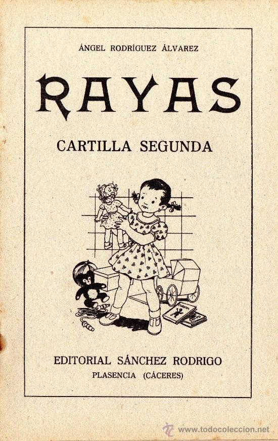 RAYAS - CARTILLA SEGUNDA - VER FOTOS. (Libros Antiguos, Raros y Curiosos - Libros de Texto y Escuela)