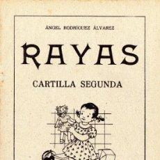 Libros antiguos: RAYAS - CARTILLA SEGUNDA - VER FOTOS.. Lote 110260491