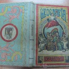 Libros antiguos: GEOGRAFIA PARA NIÑOS , ESTEBAN PALUZIE , AÑO 1901 - LIBRITO ESCOLAR. Lote 23594877
