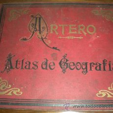 Libros antiguos: ATLAS DE GEOGRAFIA - ARTERO. Lote 26290883
