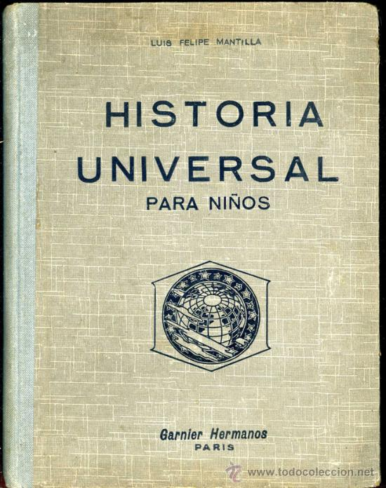 Historia Universal Para Niños Antiguo Libro De Sold Through Direct Sale 21125659
