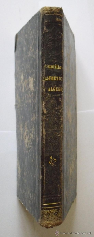 ELEMENTOS DE MATEMÁTICAS - ACISCLO F. VALLIN Y BUSTILLO - MADRID 1862 (Libros Antiguos, Raros y Curiosos - Libros de Texto y Escuela)