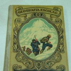Libros antiguos: GEOGRAFIA ESCOLAR-D.SERAFIN MONTALVO Y SANZ-GRADOS 2º Y 3º-DALMAU CARLES PLA EDITORES-GERONA 1935. Lote 27390346