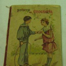 Libros antiguos: NOCIONES DE GEOGRAFIA-VICTORIANO F.ASCARZA-PRIMER GRADO-EL MAGISTERIO ESPAÑOL-MADRID 1908. Lote 26497361