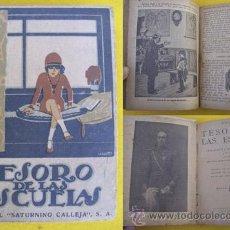 Libros antiguos: TESORO DE LAS ESCUELAS. CALLEJA. Lote 24203888