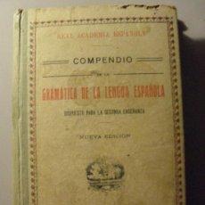 Libros antiguos: GRAMATICA DE LA LENGUA ESPAÑOLA AÑO 1.927 -NUMERADO 15738. Lote 26292793