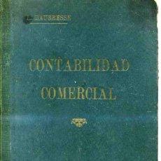 Libros antiguos: DALBRESSE : CONTABILIDAD COMERCIAL - LIBRO ESCOLAR DE 1926. Lote 25280886
