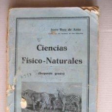 Libros antiguos: CIENCIAS FISICO NATURALES.. SEGUNDO GRADO. 1934. REPUBLICA. . ENVIO GRATIS¡¡¡. Lote 25281030
