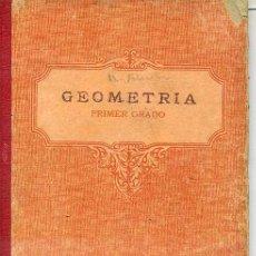 Libros antiguos: GEOMETRÍA EDELVIVES PRIMER GRADO - LIBRO ESCOLAR 1934. Lote 25281068