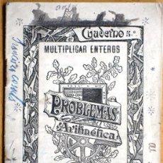 Libros antiguos: CUADERNO Nº 5 MULTIPLICAR ENTEROS - JOSÉ PALUZÍE - AÑOS 20 - USADO - 10 X 15 CM.. Lote 25314618