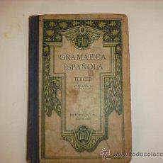 Libros antiguos: GRAMATICA ESPAÑOLA. Lote 27603148