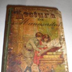 Libros antiguos: LECTURA DE MANUSCRITOS - CALLEJA - AÑO 1888. Lote 26330118