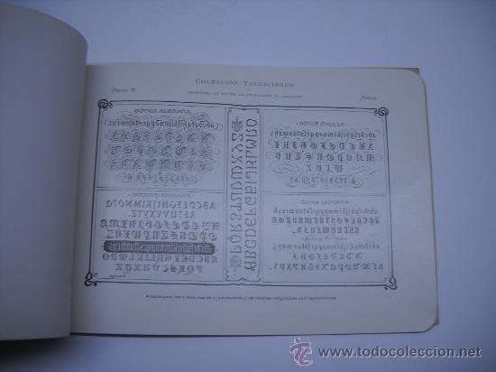 Libros antiguos: CALIGRAFIA. VALLICIERGO: NUEVO METODO DE CARACTERES GOTICOS Y DE ADORNO. MADRID,HACIA 1900.23X16 - Foto 5 - 27219854