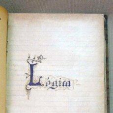 Libros antiguos: LIBRO, CUADERNO, LOGICA, FILOSOFIA, 1917, LIBRETA DE CURSOS, DEL 17 AL 21, MUY RARA. Lote 27509556