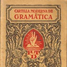 Libros antiguos - CARTILLA MODERNA DE GRAMATICA - EDITORIAL FTD - BARCELONA 1932 - 27875940