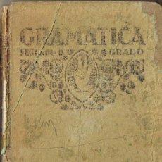 Libros antiguos: GRAMATICA SEGUNDO GRADO - F.T.D. - 1931. Lote 28072121