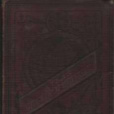 Libros antiguos: LIBRO ATLAS GEOGRAFICO UNIVERSAL - LIT,DE PALUZIE 1880. Lote 29036629