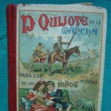Libros antiguos: D QUIJOTE DE LAMANCHA.ED HERMANOS MADRID. Lote 29231366
