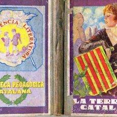 Libros antiguos: PLA CARGOL : LA TERRA CATALANA LLIBRE QUART (1933). Lote 29242728