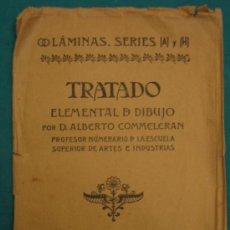 Libros antiguos: TRATADO ELEMENTAL DE DIBUJO POR ALBERTO COMMELERAN 1954. Lote 29591998