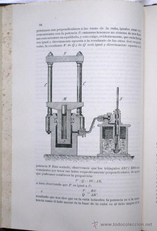 Libros antiguos: INTERNACIONAL INSTITUCIÓN ELECTROTÉCNICA - MECÁNICA APLICADA EN 5 PARTES - VALENCIA 1912-1915 - Foto 7 - 29727618