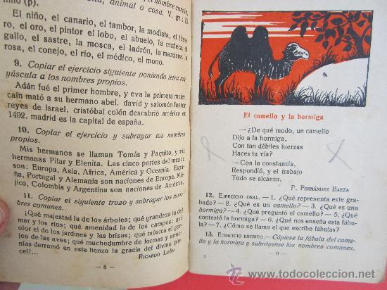 Libros antiguos: cartilla moderna de gramatica , 1928 editorial FTD , libro escolar - Foto 5 - 30174256
