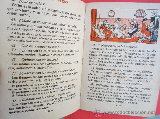 Libros antiguos: cartilla moderna de gramatica , 1928 editorial FTD , libro escolar - Foto 10 - 30174256