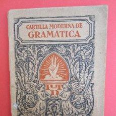 Libros antiguos - cartilla moderna de gramatica , 1928 editorial FTD , libro escolar - 30174256