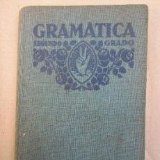 Libros antiguos: LIBRO ESCOLAR , GRAMATICA ESPAÑOLA , SEGUNDO GRADO , 1932 EDITORIAL FTD. Lote 30400631