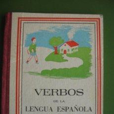 Libros antiguos: VERBOS DE LA LENGUA ESPAÑOLA.. Lote 30756455