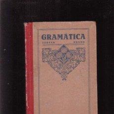Libros antiguos: GRAMÁTICA TERCER GRADO /EDITA: LUIS VIVES 1926. Lote 31068644