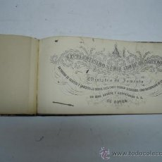 Libros antiguos: (CLASES DE CALIGRAFIA). LETRA INGLESA, ESPAÑOLA Y ADORNO PARA USO DE LAS ESCUELAS POR ENRIQUE BOVER.. Lote 31100916