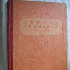 Libros antiguos: LENGUA FRANCESA. PRIMER CURSO. 1933 LUIS VIVES. Lote 31730387