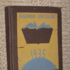 Libros antiguos: AGENDA ESCOLAR BASTINOS 1935. . Lote 31929884