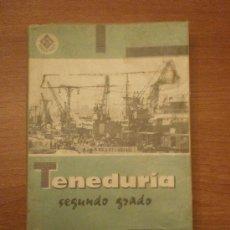 Libros antiguos: LIBRO TENEDURIA DE LIBROS -SEGUNDO GRADO - EDITORIAL VIVES . Lote 32338483