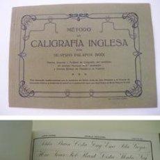 Libros antiguos: ESTUDIOS DE CALIGRAFÍA : MÉTODO DE CALIGRAFÍA INGLESA. APROX 1925. PALAFOX BOIX SILVERIO. Lote 32407410