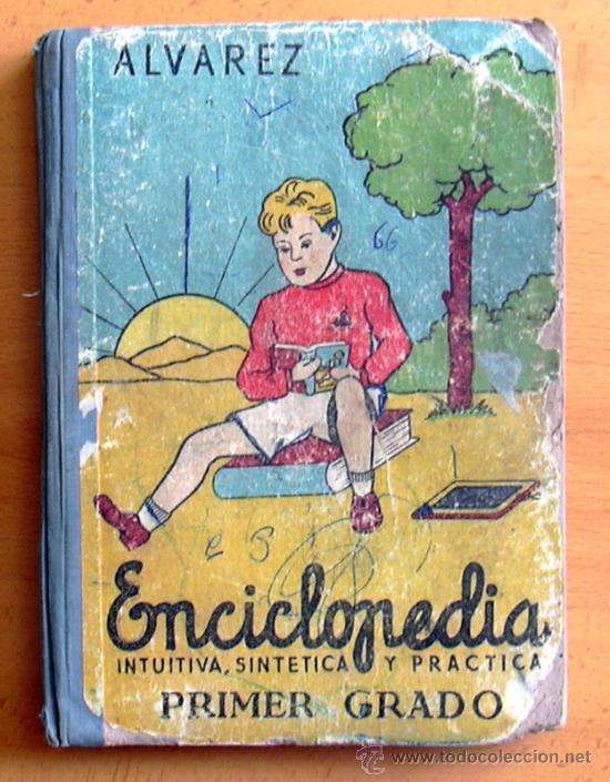Enciclopedia alvarez primer grado enciclopedi comprar - Libros antiguos valor ...
