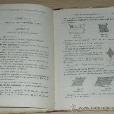Libros antiguos: LIBROS LECCIONES ELEMENTALES DE GEOMETRÍA. PRIMER GRADO. G.M. BRUÑO. EDIT. BRUÑO. AÑOS 30 TAPA DURA.. Lote 33558658