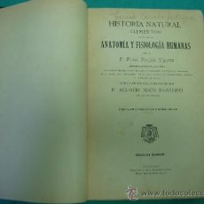 Libros antiguos: HISTORIA NATURAL POR FIDEL FAULIN UGARTE 1898. Lote 34503453