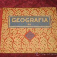 Libros antiguos: LIBRO DE ESCUELA.. GEOGRAFIA 2º CURSO. ED LUIS VIVES 1939. Lote 35486601